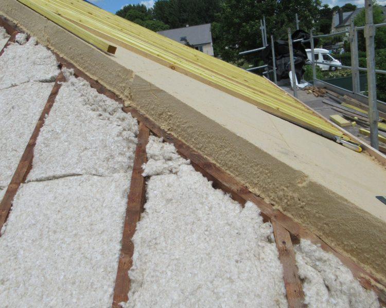 Sarking Biofib et fibre de bois