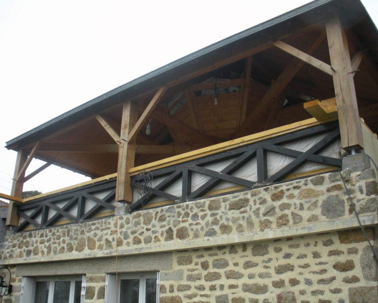 charpente terrasse couverte